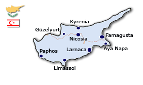 Cyprus Geography Administrative Division Of Cyprus Cyprus - Cyprus map png